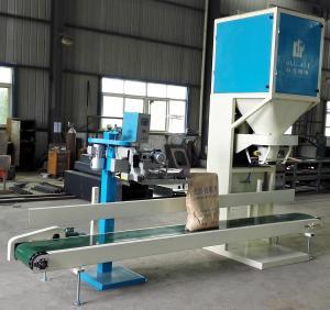 Quality Color Touch Screen 10-50kg Bag Urea Fertilizer Silica Sand Packing Machine for sale