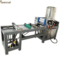 Quality One Piece Version Beeswax Machine beeswax foundation mill Machine for sale