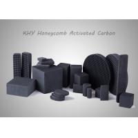 Quality Square Honeycomb Activated Carbon High Suction Performance For Air Purification for sale