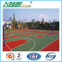 Quality Synthetic Badminton Court Flooring Playground Rubber Mats Anti Skid Coating for sale