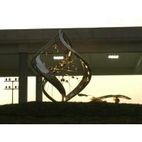 Buy cheap Custom Color Modern Stainless Steel Sculpture As Landscaping Garden Decoration from wholesalers