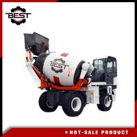 Buy cheap Small Self Loading Concrete Mixer Truck Dimensions 2 Cubic Meters Concrete Mixer from wholesalers