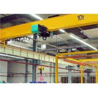 Buy cheap 10T-15M Light duty electric Single girder overhead cranes with safety berakes from wholesalers