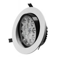 Buy cheap Milky White Recessed SMD3014 110V 20W 200MM Dia PF 0.9 Warranty 3 Years Dimming LED Downlights from wholesalers