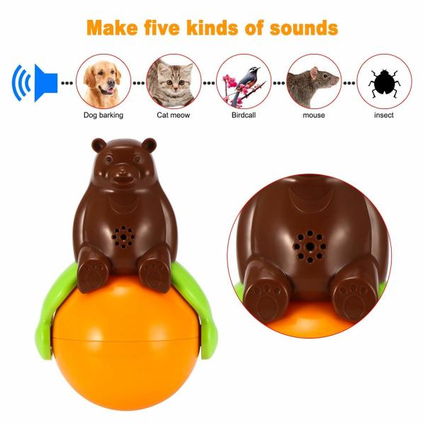 Buy 4.2v Cute Pet Toys Sound And Light Ball Lr44 Battery Five Kinds Of Sounds at wholesale prices