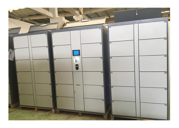 Buy Stainless Steel Smart Luggage Cabinet Storage Locker With Coin Operated at wholesale prices