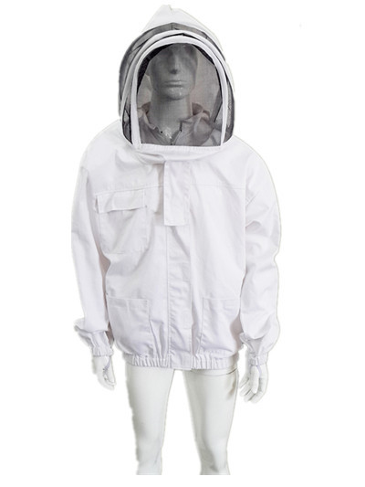 Buy Economic Bee Jacket With Zippered Hood Beekeepers Protective Clothing S-2XL at wholesale prices