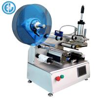Quality Semi Auto Bottle Labeling Machine , Adhesive Manual Label Applicator for sale