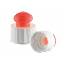 Quality leakproof PP 24 410 Push Pull Water Bottle Caps for sale