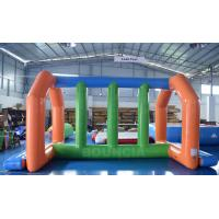 Buy cheap 0.9mm PVC Tarpaulin Inflatable Water Park Games For Adults from wholesalers