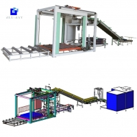 Quality China blueray high speed 500 bag/hour automatic  bag stacker machine with CE for sale