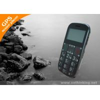 Quality GS503 1.7 Black Screen Sliding Key Lock Long Standby Elderly GPS Tracker With Big Font for sale