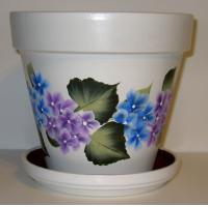 Buy cheap burn finish set of two wooden garden flowerpot from wholesalers