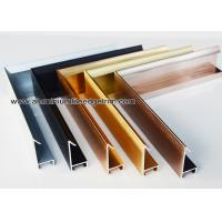 Quality Modern Design Aluminium Picture Frame Mouldings With Narrow Frame Border for sale