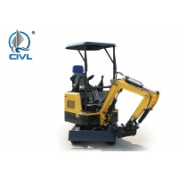 Quality XE15E Hydraulic Crawler Excavator 0.044m³ for Construction in Yellow for sale
