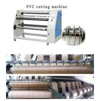Quality CE pvc roll cutting machine with good price for sale