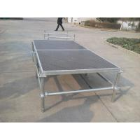 Portable Mobile Double Layer Stage , Wedding Events Modular Layer Truss