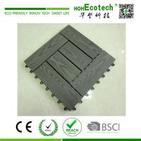 Quality Fashion style external wpc deck tile for sale