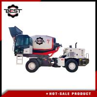 Buy cheap Commercial Mobile Concrete Mixer Truck Mobile Cement Mixer Long Life Truck from wholesalers
