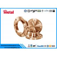 Quality Class 600 # Copper Pipe And Fittings , ASME SB466 Copper Wall Flange for sale