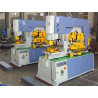 Quality Multi Function Hydraulic Ironworker 900KN Cuttign Angle Steel for sale