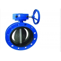 Quality DN200 Mono Flange Butterfly Valve for sale