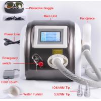 Quality 1064nm 532nm 1320nm Laser Pigment Removal / Tattoo Removal Machine Multifunction 1000mj for sale