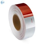 Quality Adhesive DOT Reflective Tape , Honeycomb Hi Viz Fmcsa Reflective Tape On Dump Trucks for sale