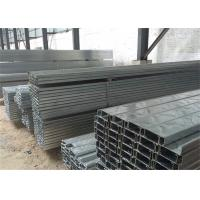 Quality Building Material Galvanised Steel Purlins Z Section 150 To 300mm For Roofing for sale