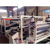 Quality waterproof,fire proof,anti-corrosion,flame retardant pvc glazed roof tile production line for sale