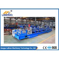Buy cheap Siemens PLC Control C Z Purlin Roll Forming Machine High Speed Purlin Forming from wholesalers