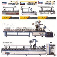 wood profile wrapping machine