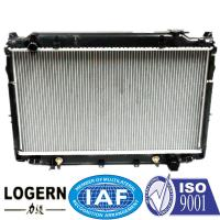 Quality Aftermarket Motorcycle Radiators / TOYOTA Car Radiator Used In Landcruiser 93-98 for sale