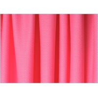China Pink 4 Way Customized Polyester Spandex Stretch Mesh Fabric for Outdoor Cloth , Interlining on sale