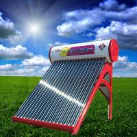 Quality Colored Steel Integrated Non-pressurized Solar Water Heater With 20 Tubes for sale