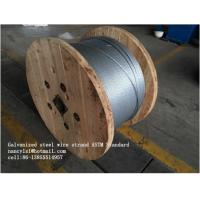 Buy cheap Zinc Coating Steel Wire Cable 7/3.05mm 7/3.45mm With Scratch And Corrosion from wholesalers
