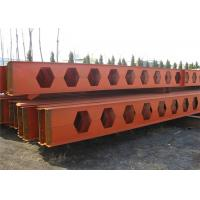 Quality Honeycomb Structural Steel Beams Q235b Q345b Grade For Main Support for sale