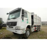 Quality Sinotruk Howo 6x4 Garbage Compactor Truck Heavy Duty Powered By Diesel for sale