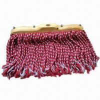 Quality Natural cotton yarn mop head, customized sizes are accepted for sale