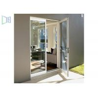 Quality Glass Hinged Aluminium Casement Door For Commercial and Residential for sale