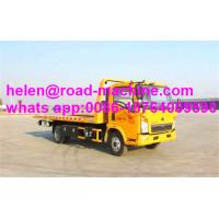Buy Euro 4 120hp 4x2 Wrecker Tow Truck 120L fule tank With Cummins Engine at wholesale prices