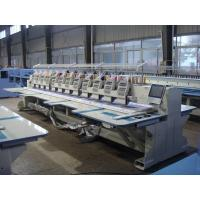 Buy cheap Commercial Computerized Embroidery Machine For Flat Bed 12 Heads from wholesalers