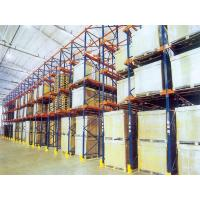 Quality Q235B cold rolled steel Drive in Pallet Rack , Loading Capacity  1200KG for sale