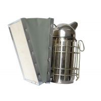 Quality Stainless Star European Style Electric Bee Hive Smoker M Size With Round Head of Bee Hive Smoker for sale