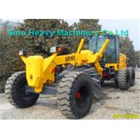 Buy 15000kg SHMC Motor Graders GR165 with D6114 Engine , Yellow Or Other Color You at wholesale prices