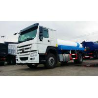 Buy cheap 10000 Liters Fuel Oil Liquid Tanker Truck Howo 4x2 6 Wheels RHD / LHD from wholesalers