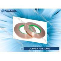 China 12mm x 50m - Copper Foil Tape with Conductive Adhesive for EMI Shielding on sale