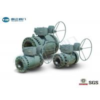 """Buy cheap Flange End Trunnion Ball Valve , API 6D Three Piece Ball Valve 2"""" - 42"""" from wholesalers"""