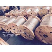 Buy cheap Cold Drawn ASTM A475 Galvanised Steel Wire For Communication Cable from wholesalers