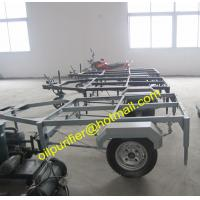 Quality Mobile Trailer Mounted Vacuum Transformer Oil Purifier,Insulation Oil Filtration cleaner for sale
